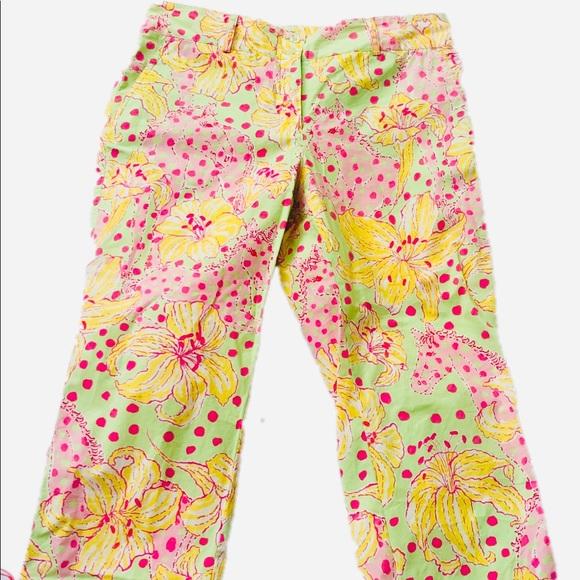 Lilly Pulitzer Pants - Lilly Pulitzer Capri Pants Size 6